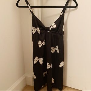 kate spade bow nightgown